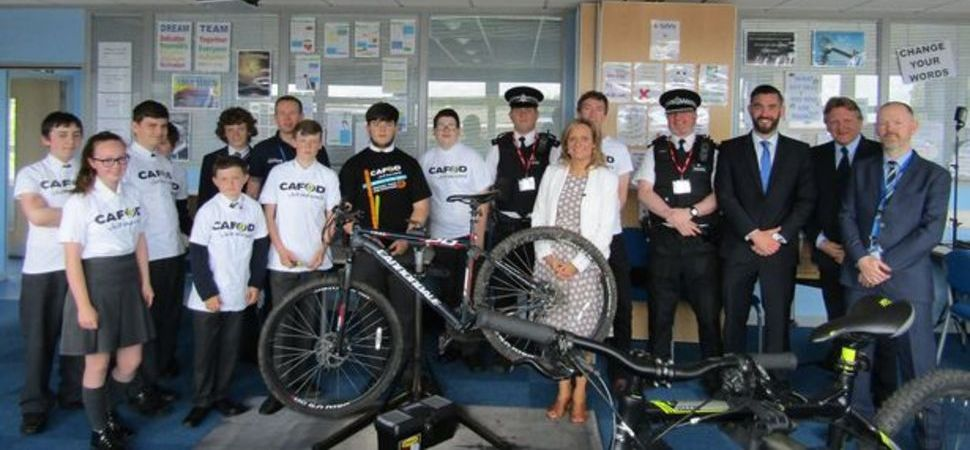 Savio Salesian College pupils' brilliant bike initiative