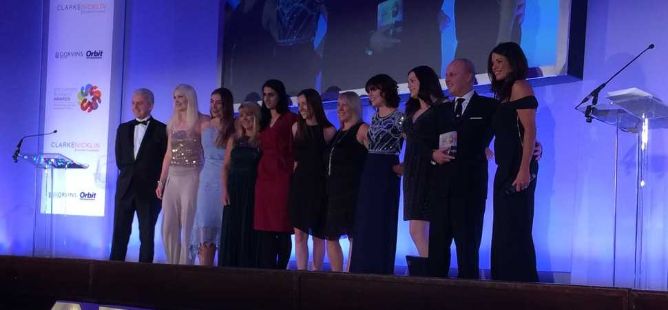 Together celebrates win at Stockport Business Awards