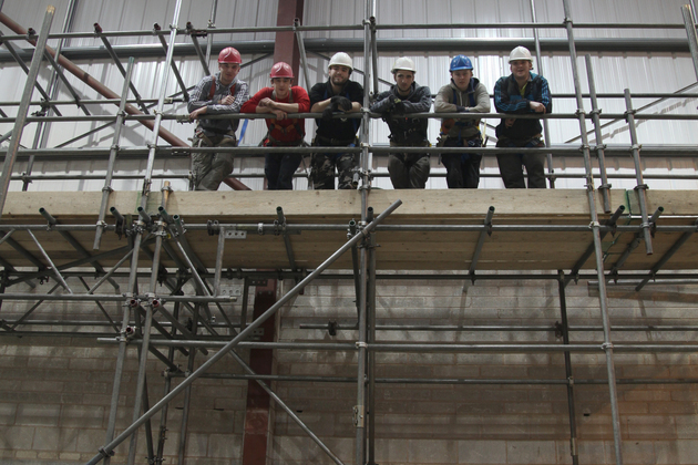 Scaffolding Apprentices Achieve Great Heights