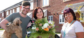 Scholars Park welcomes first shared ownership couple
