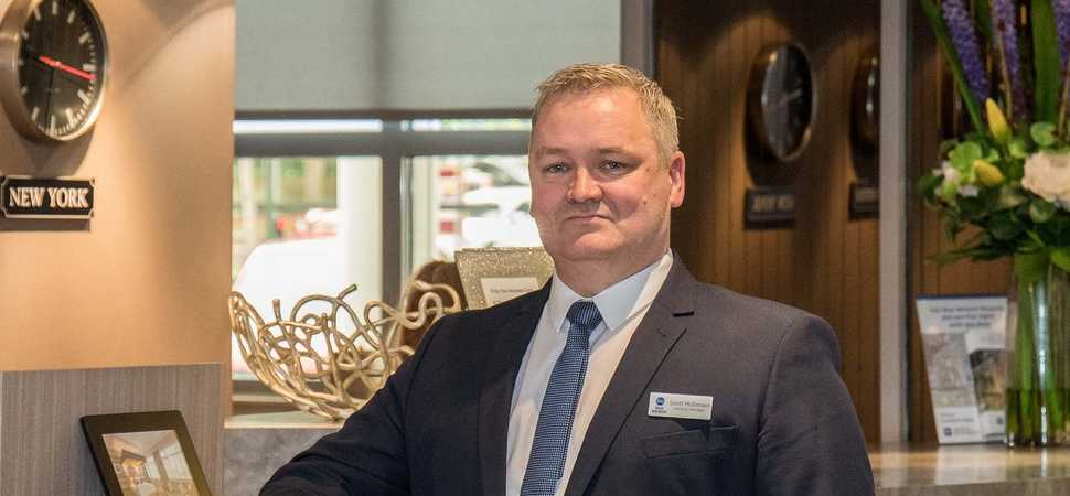 New General Manager Takes the Helm at the Best Western Cresta Court Hotel