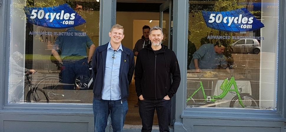 Top electric bike firm gears up Glastonbury Festival staff