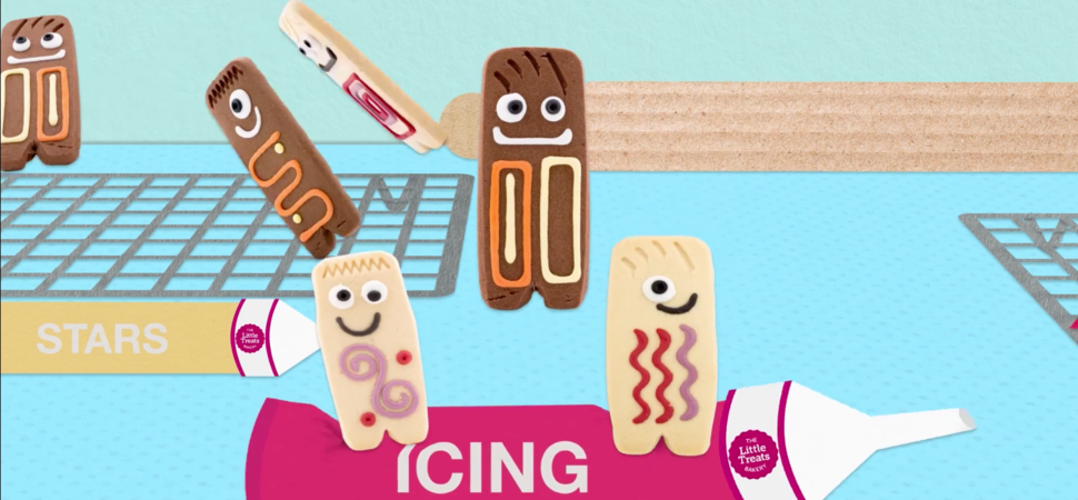 IF agency bring biscuits to life for the little treats bakery