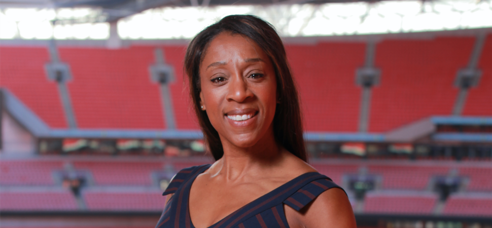 Olympian, Diane Modahl, receives MBE for Services to Sport and Young People