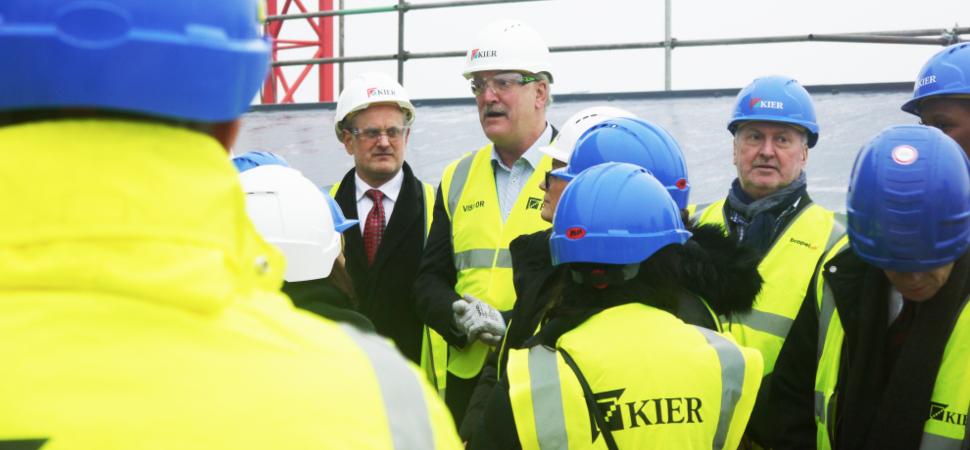 HMT Sancta Maria Hospital Reaches Major Construction Milestone