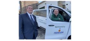 Northumberland Freemasons Donate Van to Charity