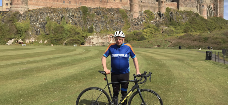 Paul Cycles to Health and Raises Cash for Diabetes UK
