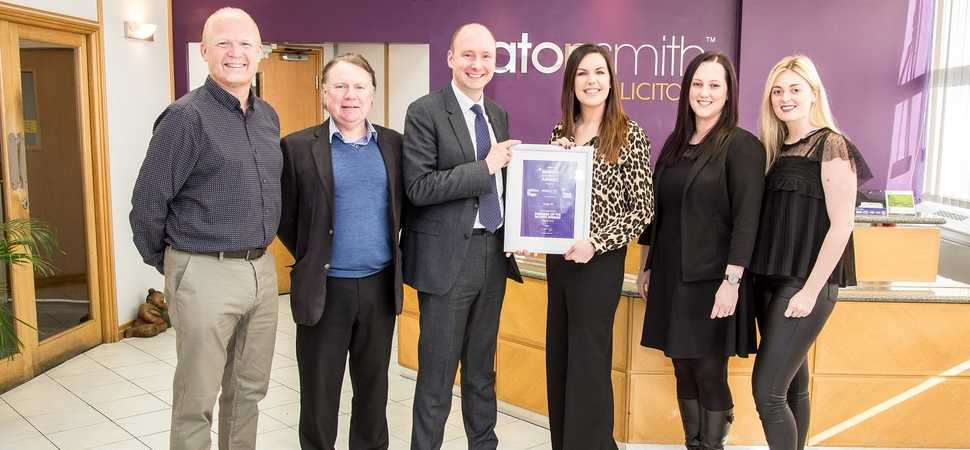 Scriba PR wins business of the month award