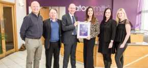 Huddersfield-based Scriba PR wins business of the month award