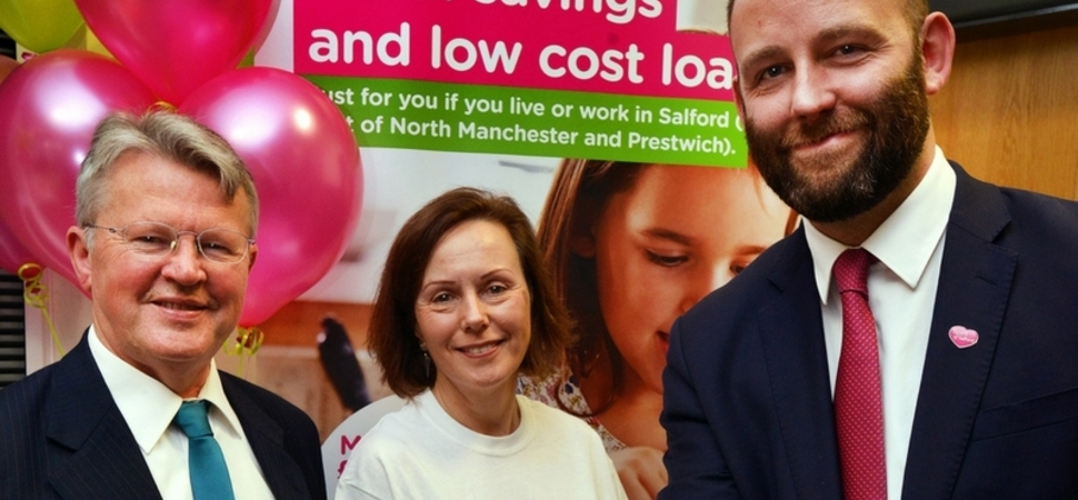 Workers in Salford can benefit from credit union's new payroll loan deal