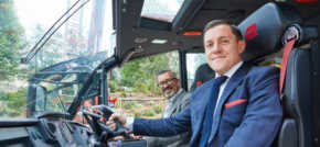 Fire appliance manufacturer Rosenbauer UK has partnered with Huddersfield Town