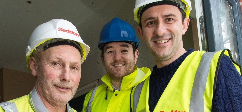 Back to the Tools day for Runcorn housing scheme