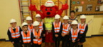 St. Modwen teaches site safety to school children in Newton-le-Willows