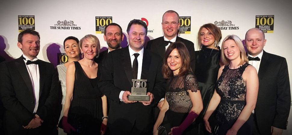 Select Property Group Named Top Property Company in Best Small Companies List