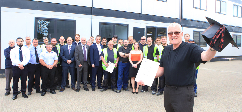 Huntington-based SES PRISM Team Graduate in Manufacturing Excellence