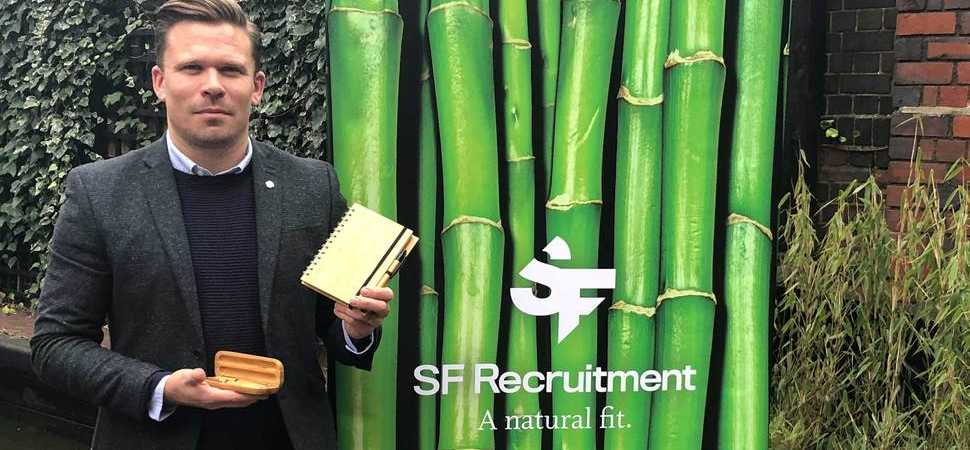 Top Midlands recruiter SF Group ditches plastic for bamboo as part of new brand