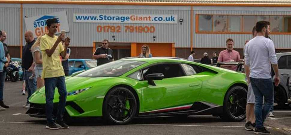 Petrol Heads Motored to Swansea For Cars & Coffee Wales Meeting at Storage Giant