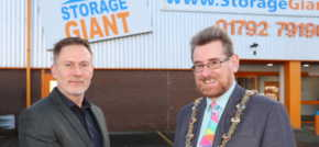 Swansea Mayor Cuts the Ribbon on Storage Giant Expansion to Meet Student Demand