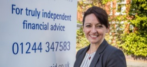 Sharon Rogers helps strengthen Innes Reid's financial services in the North West