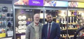 Shaz Sardar opens second Cash Converters - New store now on Lochee High Street
