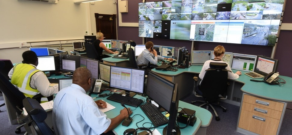 Burnley's eyevis UK At Centre of Sheffield Traffic Control Room