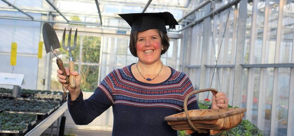 Pershore lecturer recognised for research into wider benefits of horticulture