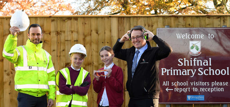 Countryside Gives Health & Safety Talk To Shropshire Pupils