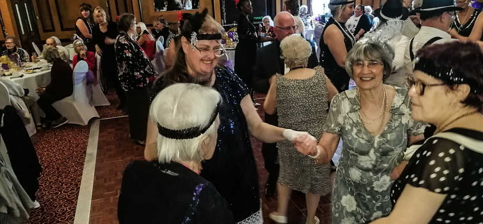 Hull care home residents have a ball