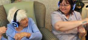 Ware care home blames it on the boogie at silent disco