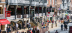 July footfall surge in Chester city centre