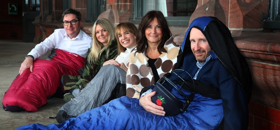 Century at Old Trafford scored by CEO Sleepout