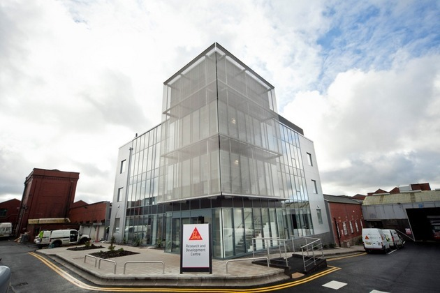 Conlon Completes £3m Sika Extension In Preston