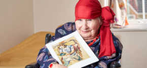 Muse for famous painting inspires Thorrington care homes creativity
