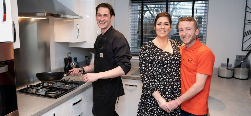 Fine dining for Bellway buyers in Lowton