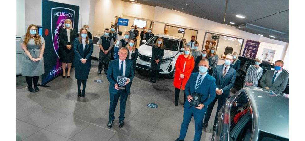 Simon Bailes Peugeot roars to UK prominence with trio of Golden Lion awards