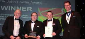 Yorkshire water draining management plan pilot wins prestigious award