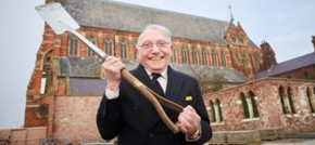 Oldham's Sir Norman Stoller performs ceremony at Gorton Monastery