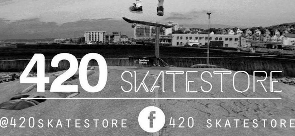 420 Skatestore has opened a new skateboard shop in Hull