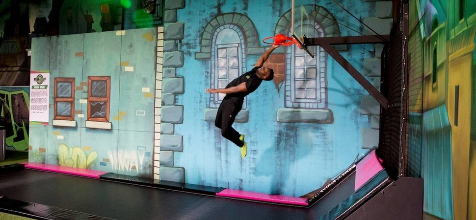 Countdown begins to opening of Flip Out trampoline park in Leicester