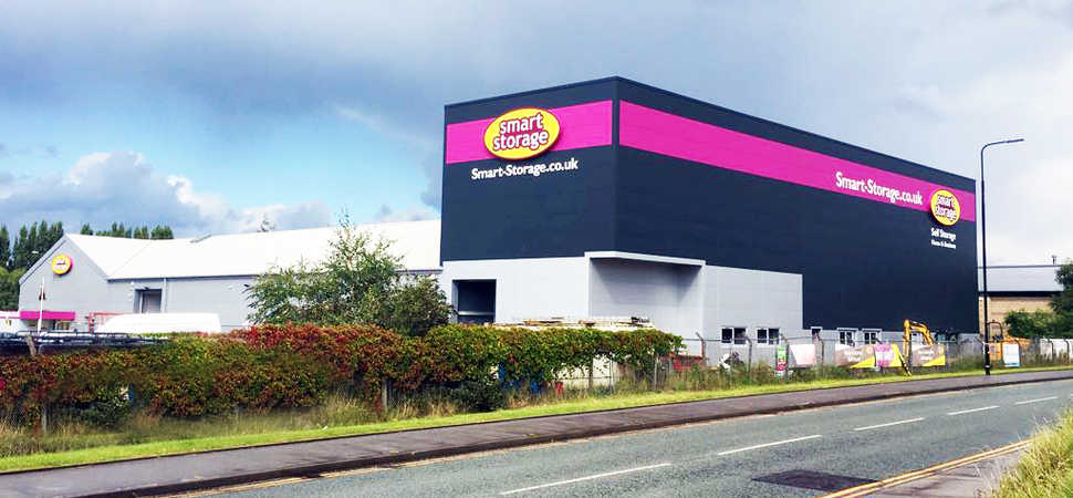 Expansion to Storage Facility More Than Doubles Lettable Space