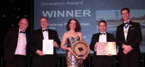 Leeds footbridge wins prestigious civil engineering award