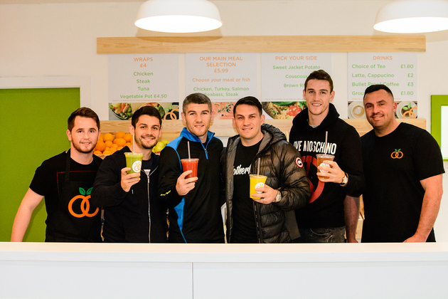 Champion boxing brothers launch new healthy eating brand
