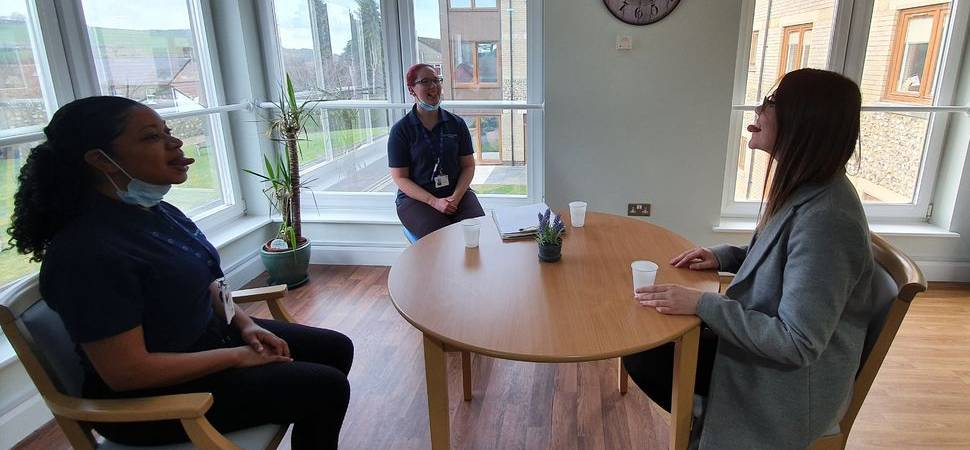 Specialist neurorehabiliIitation hospital raises awareness of swallowing issues