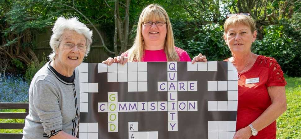 Droitwich care home celebrates CQC success