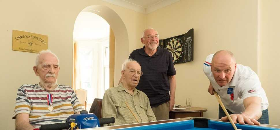 British Legion Bring Military Memories to Manor Residents