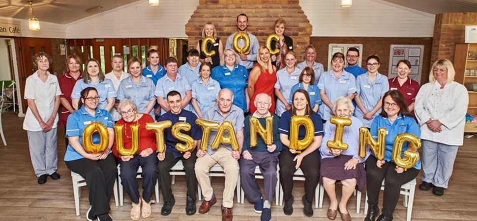 Norwich care home celebrates Outstanding CQC triumph