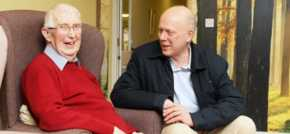 Chris Grayling quizzed by care home residents