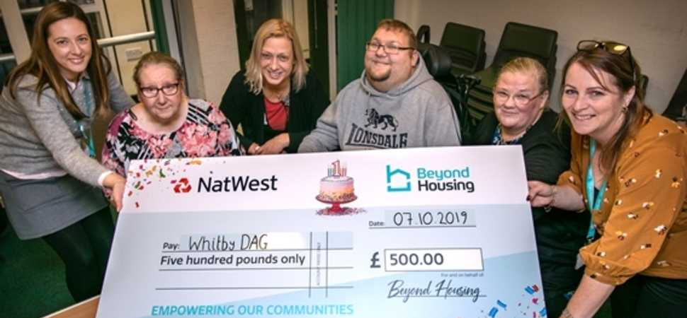 Brithday funding boost for Whitby DAG