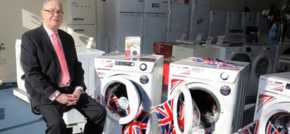South Coast Appliances one of first with new British made washers from Ebac