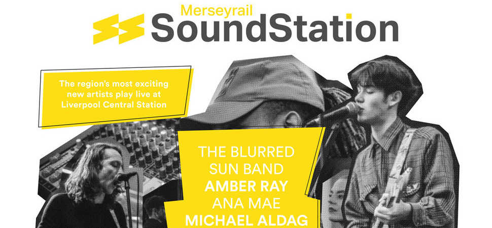 Merseyrail Sound Station artists to perform at Liverpool Central this Friday